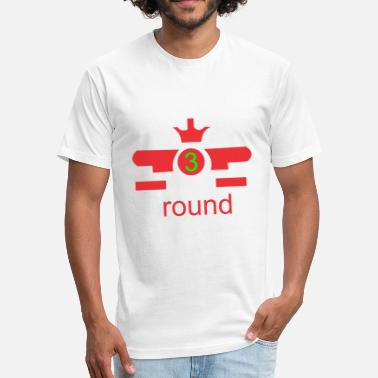 Round Birthday round - Fitted Cotton/Poly T-Shirt by Next Level