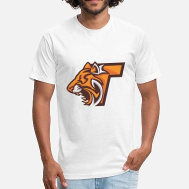 Teleporter Teleportation tiger head - Fitted Cotton/Poly T-Shirt by Next Level