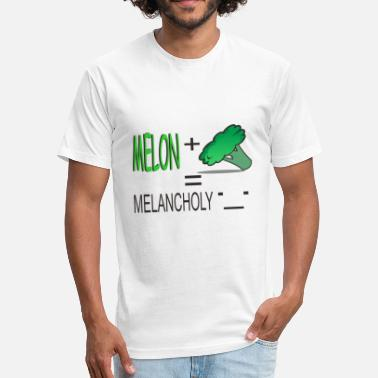 Melancholy Melancholy - Fitted Cotton/Poly T-Shirt by Next Level