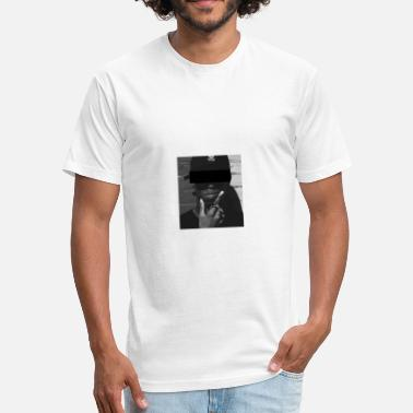 Censor censored. - Fitted Cotton/Poly T-Shirt by Next Level