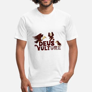 Raptor Bird Of Prey Funny Vulture - Deus Bird Of Prey Raptor - Humor - Fitted Cotton/Poly T-Shirt by Next Level