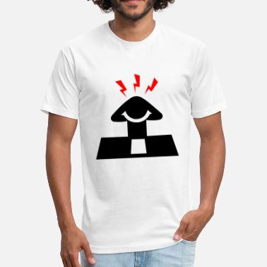 Headache headache - Fitted Cotton/Poly T-Shirt by Next Level