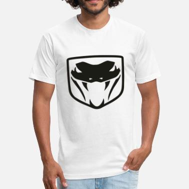 Dodge Viper Dodge Viper Logo - Fitted Cotton/Poly T-Shirt by Next Level