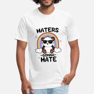 Hate Boys Hates Gonna Hate TShirt for Boys Kids Kawaii - Fitted Cotton/Poly T-Shirt by Next Level