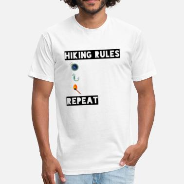 Hiking Rules Hiking Rules - Fitted Cotton/Poly T-Shirt by Next Level