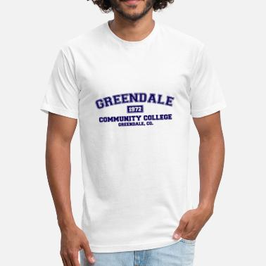 Communism Nerd Greendale Community College - Fitted Cotton/Poly T-Shirt by Next Level