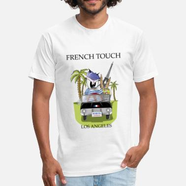 Expatriation Zanine la Mouche French Touch - Fitted Cotton/Poly T-Shirt by Next Level