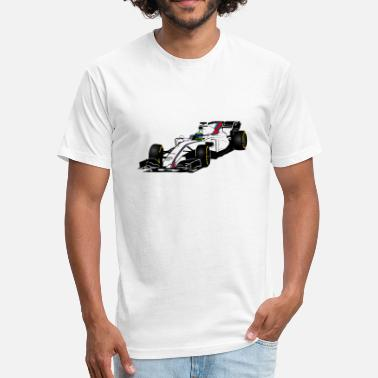 F1 Formula One Formula One - Formula 1 - racer - Fitted Cotton/Poly T-Shirt by Next Level