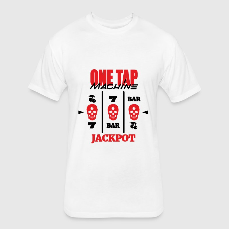 ONE TAP MACHINE CS:GO - Fitted Cotton/Poly T-Shirt by Next Level