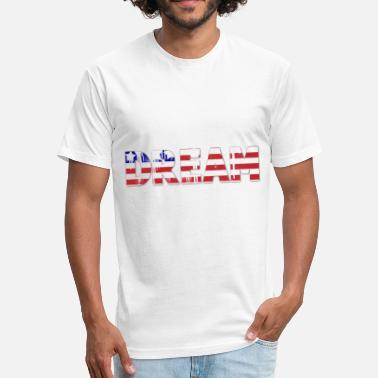 Dream Team National Team USA America 17 - Fitted Cotton/Poly T-Shirt by Next Level