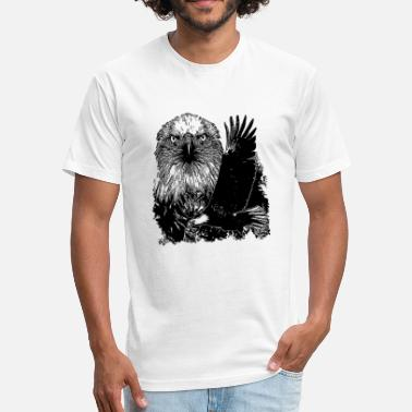 Majesty Majesty Eagle - Majesty Eagle - Unisex Poly Cotton T-Shirt