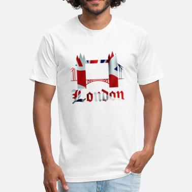 Best Capitalism LONDON - Fitted Cotton/Poly T-Shirt by Next Level