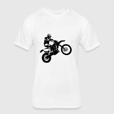 Enduro - Offroad - Motocross - Fitted Cotton/Poly T-Shirt by Next Level
