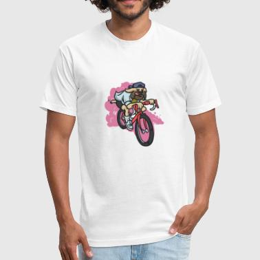 MOTORCYCLE 1 - Fitted Cotton/Poly T-Shirt by Next Level