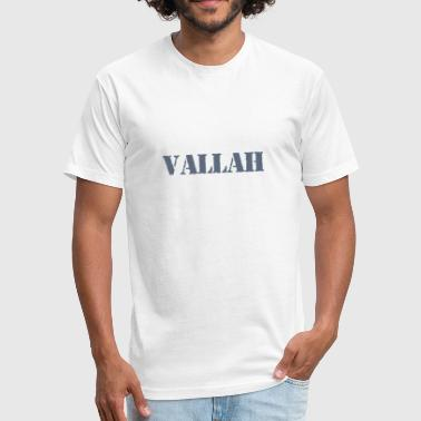 Turkish Love Vallah turkish - Fitted Cotton/Poly T-Shirt by Next Level