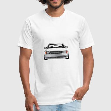 W126 Coupe - Fitted Cotton/Poly T-Shirt by Next Level