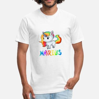 Marius Marius Unicorn - Fitted Cotton/Poly T-Shirt by Next Level