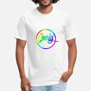 Gnarly Skate Gnarly Brand Equality - Fitted Cotton/Poly T-Shirt by Next Level