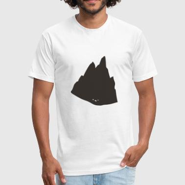 Hehe - Fitted Cotton/Poly T-Shirt by Next Level