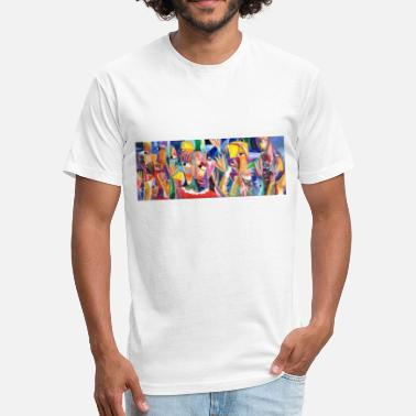 Contemporary contemporary art - Fitted Cotton/Poly T-Shirt by Next Level