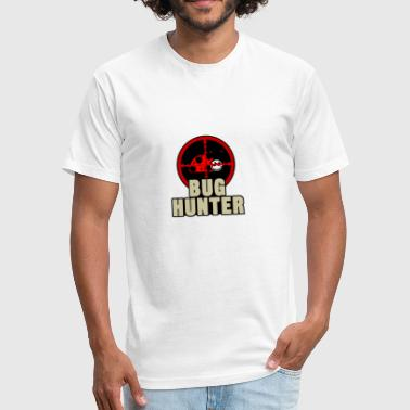Bug Hunter bug hunter - Fitted Cotton/Poly T-Shirt by Next Level
