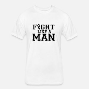 Fight Like A Man Cancer Depression Gift Birthday By Naughty