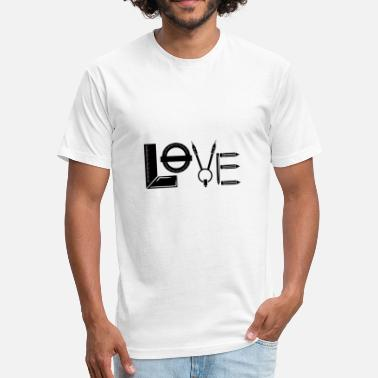 Landscape Architecture Love Architectural Tools - Fitted Cotton/Poly T-Shirt by Next Level