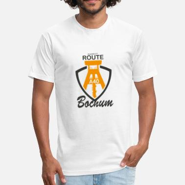 Bochum Bochum - Fitted Cotton/Poly T-Shirt by Next Level