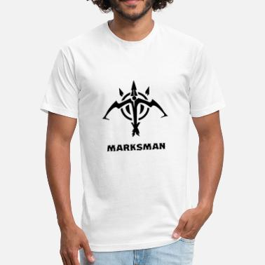 Marksman League Of Legends marksman adc league of legends - Fitted Cotton/Poly T-Shirt by Next Level
