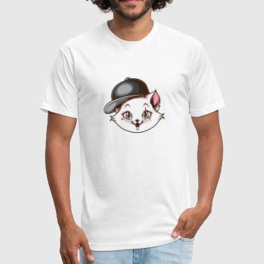 Sexy Cat Cute Cat, Sexy Cat, Sexy Kitten, Girl Cat, Hip Hop - Fitted Cotton/Poly T-Shirt by Next Level