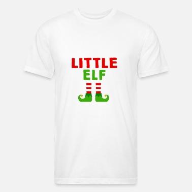 556fdba9 Little Elf shirt - Funny Little Elf christmas tshi Men's Premium T ...