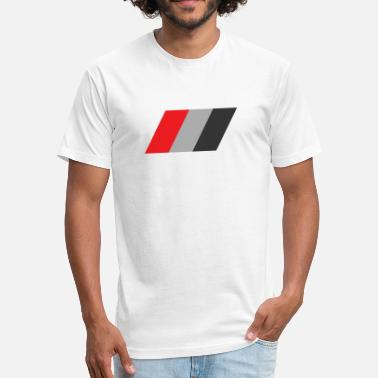 Audi Sport Audi Flag - Fitted Cotton/Poly T-Shirt by Next Level