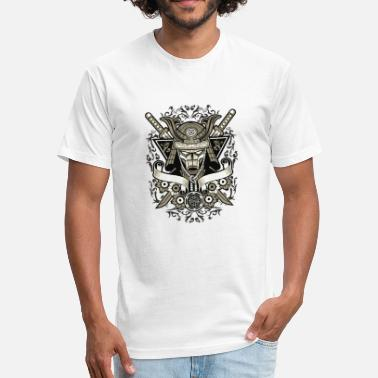 Samurai Jiujitsu Samurai - Fitted Cotton/Poly T-Shirt by Next Level