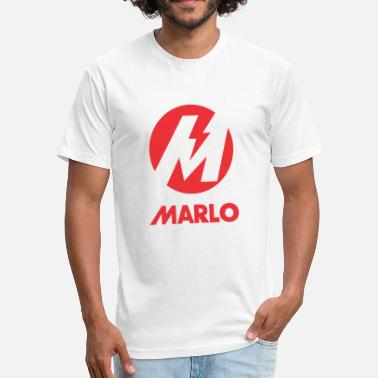 Marlo Marlo - Fitted Cotton/Poly T-Shirt by Next Level