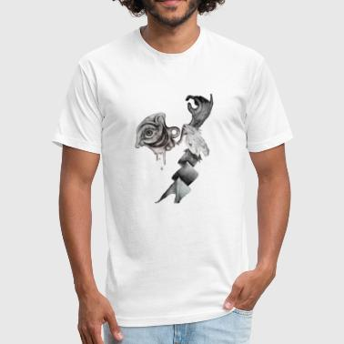 Surreal Cyclops - Fitted Cotton/Poly T-Shirt by Next Level