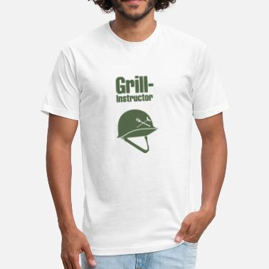 Grill Instructor Grill Instructor - Fitted Cotton/Poly T-Shirt by Next Level