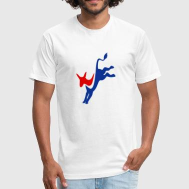 Democrat - Fitted Cotton/Poly T-Shirt by Next Level