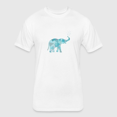 (elefant_2all_22_orig_kopie) - Fitted Cotton/Poly T-Shirt by Next Level