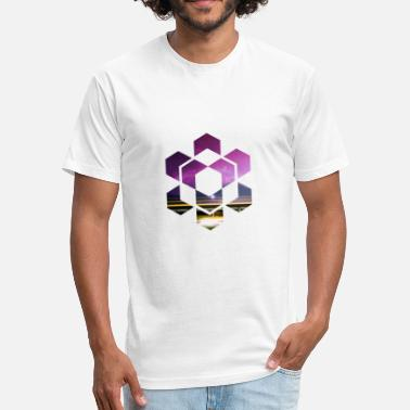 Geometric Shape Geometric Shape - Fitted Cotton/Poly T-Shirt by Next Level