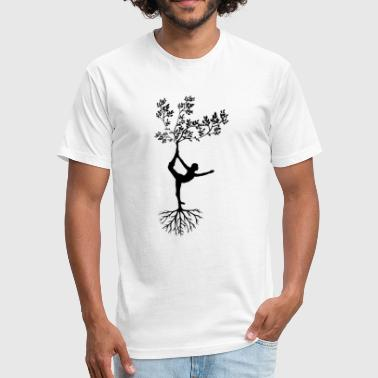 tree people - Fitted Cotton/Poly T-Shirt by Next Level