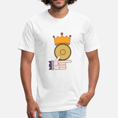 Gold Coins Gold Coin - Fitted Cotton/Poly T-Shirt by Next Level