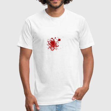 Stabbed - Fitted Cotton/Poly T-Shirt by Next Level