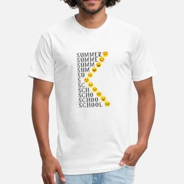 Summer School Summer and School - Fitted Cotton/Poly T-Shirt by Next Level
