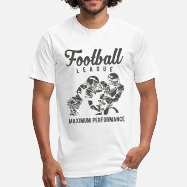 Maximum Performance Football League Maximum Performance Design - Fitted Cotton/Poly T-Shirt by Next Level