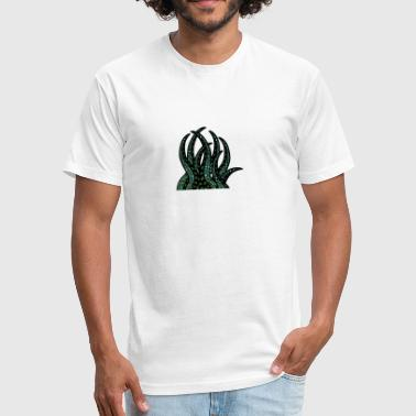tentacle - Fitted Cotton/Poly T-Shirt by Next Level