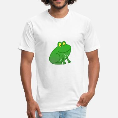 Frog Comics Frog Comic - Fitted Cotton/Poly T-Shirt by Next Level