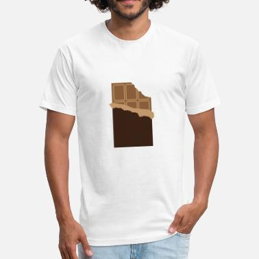 Chocolate Bar A Bar Of Chocolate - Fitted Cotton/Poly T-Shirt by Next Level