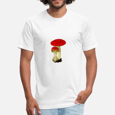 Toadstool Toadstool - Fitted Cotton/Poly T-Shirt by Next Level