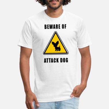 Attack Dog beware of attack dog - Unisex Poly Cotton T-Shirt