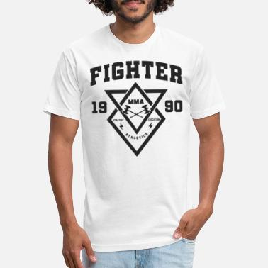 Respct Fighter - Unisex Poly Cotton T-Shirt